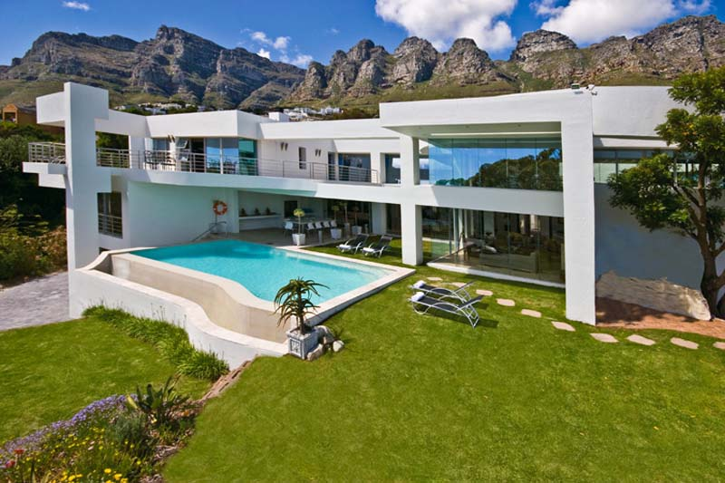 Bachelor villa camps bay kapstadt in südafrika